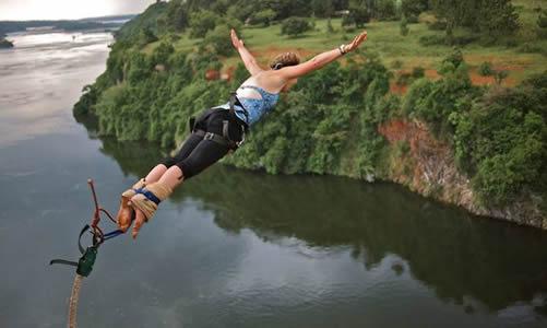 Bungee Jumping in Uganda